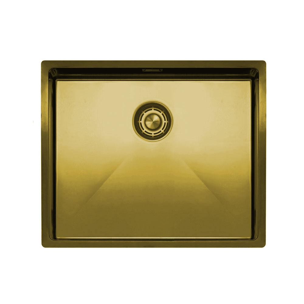 Zlato/Medenina Kuhinjska Umivalnik - Nivito CU-500-BB
