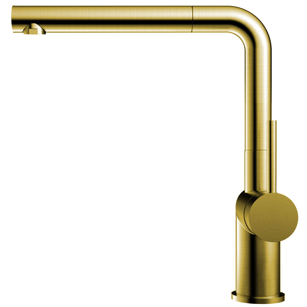 Zlato/Medenina Kuhinjska Pipa Izvlekljiva cev - Nivito RH-640-EX