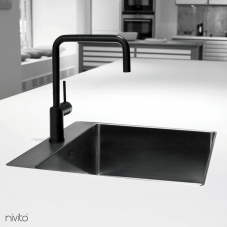 Črna Kuhinjska Pipa - Nivito 1-RH-320