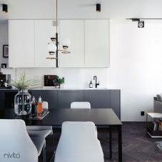 Črna Kuhinjska Pipa - Nivito 11-RH-320