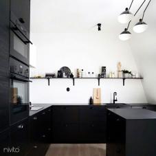 Črna Kuhinjska Pipa - Nivito 13-RH-320