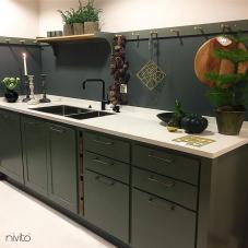 Črna Kuhinjska Pipa - Nivito 14-RH-320