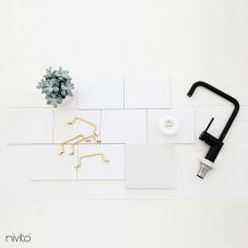 Črna Kuhinjska Pipa - Nivito 19-RH-320