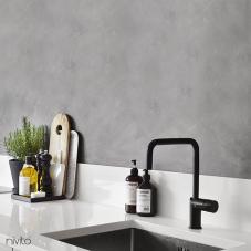 Črna Kuhinjska Pipa - Nivito 2-RH-320
