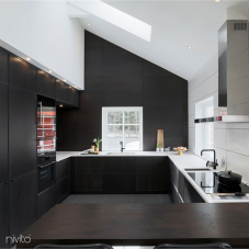 Kuhinja voda pipa crna