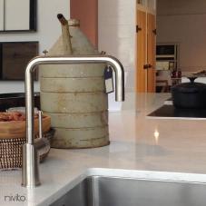 Nerjaveče Jeklo Kuhinjska Pipa - Nivito 3-RH-300