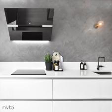 Črna Kuhinjska Pipa - Nivito 3-RH-320