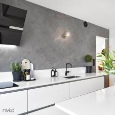 Črna Kuhinjska Pipa - Nivito 4-RH-320
