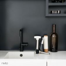 Črna Kuhinjska Pipa - Nivito 7-RH-320