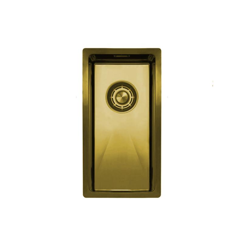 Zlato/Medenina Kuhinjska Umivalnik - Nivito CU-180-BB