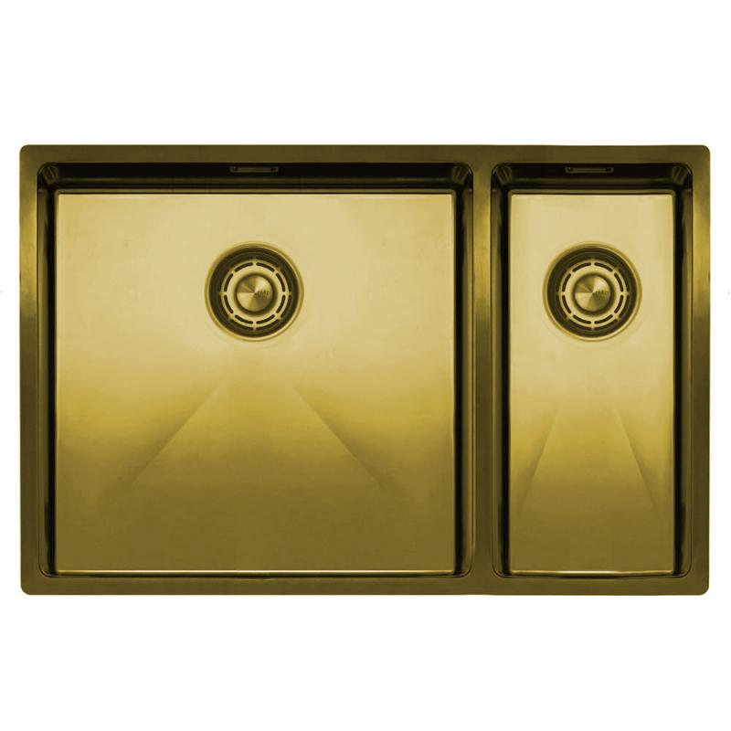 Zlato/Medenina Kuhinjska Umivalnik - Nivito CU-500-180-BB