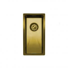 Zlato/Medenina Kuhinjska Umivalnik Za Obraz - Nivito CU-180-BB