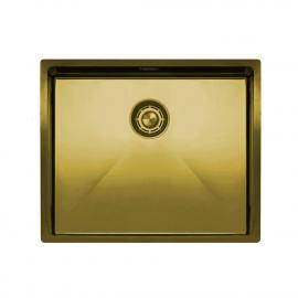 Zlato/Medenina Kuhinjska Umivalnik Za Obraz - Nivito CU-500-BB
