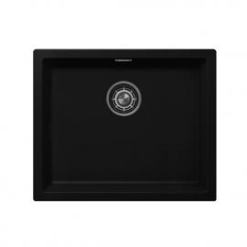 Črna Kuhinjska Umivalnik Za Obraz - Nivito CU-500-GR-BL