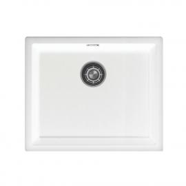 Bela Kuhinjska Umivalnik Za Obraz - Nivito CU-500-GR-WH