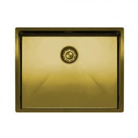 Zlato/Medenina Kuhinjska Umivalnik Za Obraz - Nivito CU-550-BB