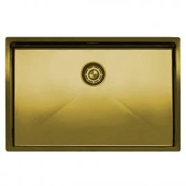 Zlato/Medenina Kuhinjska Umivalnik Za Obraz - Nivito CU-700-BB
