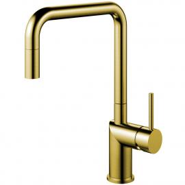 Zlato/Medenina Kuhinjska Pipa Izvlekljiva cev - Nivito RH-340-EX